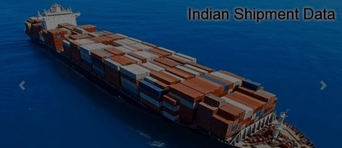 Indian Shipment Data